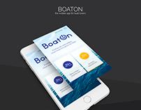 BoatOn - Mobile App
