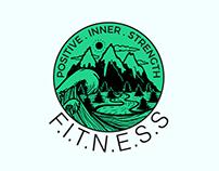 Positive Inner Strength Fitness Logo
