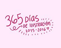 365 días de Ilustración (2015-2016)