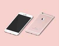 iPhone 6S   vector illustrations