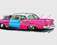 old dragster