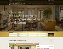 Web and Mobile Design Concept for Pacha Estates