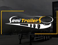 """Корпоративный сайт """"Semitrailers"""""""