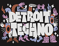 Movement Detroit 2018 Merch