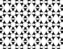 Hexagon wallpaper I Illustration