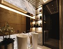 Next level office vip wc design