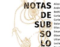 Cartaz exposição Notas de Subsolo
