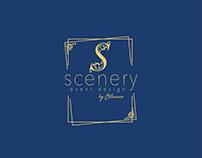 Scenery logo and branding presentation