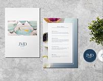 JMD Party Designers-派對食物設計品牌形象重塑