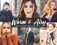 Free Warm & Airy Mobile & Desktop Lightroom Preset