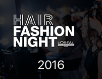 HAIR FASHION NIGHT - L'Oréal Professionnel 2016