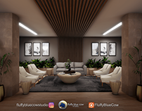 3D Visualisation - Office Lobby Renovation