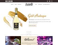Azanti Website mockup