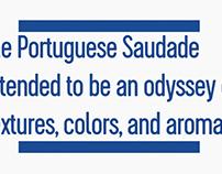 Portuguese saudade, A Saudade Portuguesa Trailer video