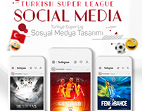 Turkish Super League Social Media