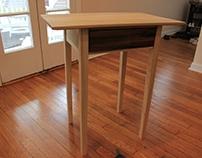 Poplar Shaker Table