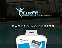 Luxfit Packaging Design