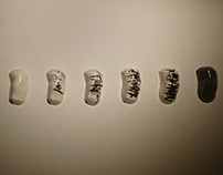 KNEE-MATIC // Ceramic installation