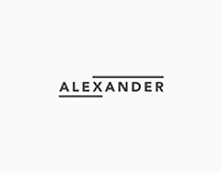 Alex & Xander Logo Design