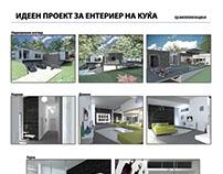 Graduate work 3D Interior Design