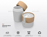 Packaging Mock Up - Paper Carton Tube