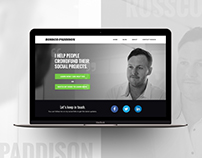 Rossco Paddison - Website Design
