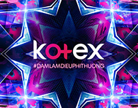 Kotex - Banner + Box Design