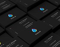 PrintLab. Business card template
