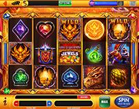 Dragon's Jewels casino slot for Scientific Games