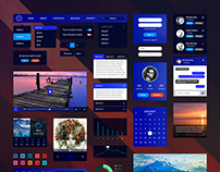 Retina UI Web Kit • PSD & Sketch Download