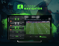 TV App FUSSBALL NAVIGATOR - Unity Media