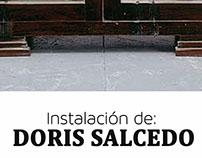 Instalación de Doris Salcedo