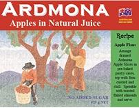 Ardmona Tinned Fruit Label Concept