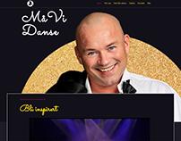 Webdesign for Må Vi Danse