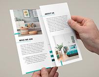 Brochure – Interior Design Tri-Fold Template
