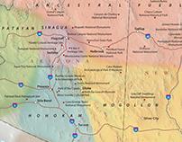 Maps for Rio Nuevo Publishers