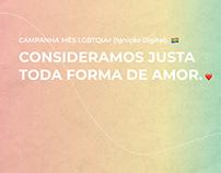 Social media - Mês do orgulho LGBTQIA+
