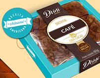 Brownies packaging, for Divini Brownie.