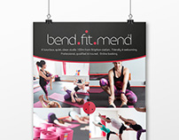 Bend.Fit.Mend marketing materials