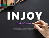 "Case-concept art studio ""INJOY"""