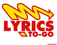 Lyrics To Go