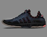 adidas Terrex Trail Running Design Project