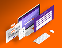 Landing Page Design for IT Company