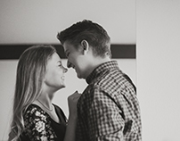 Morgan + Katie - At Home Couple Session