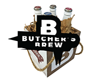 Butcher's Brew - Craft Beer Packaging