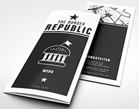 The Burger Republic / Menu