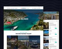 Adria Holidays, Website redesign