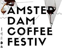 Amsterdam Coffee Festival Poster Design