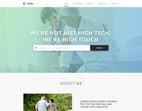 Caregiver Landing Page
