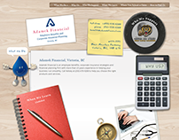 Adamek Financial Website - Responsive Wordpress (2013)